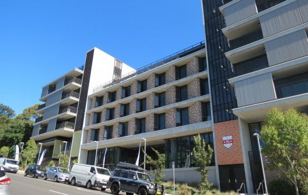 Kensington Colleges Redevelopment at UNSW Randwick Campus
